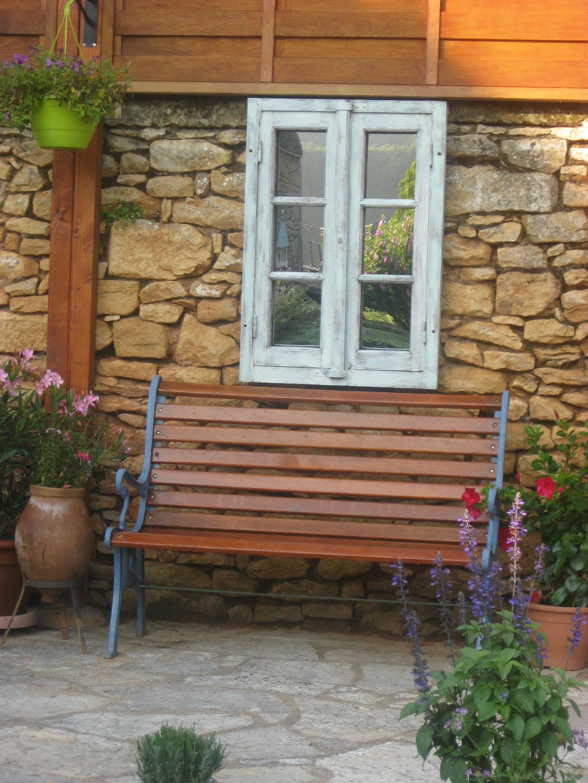 Mirori de jardin - Fenêtre trompe l'oeuil (3)