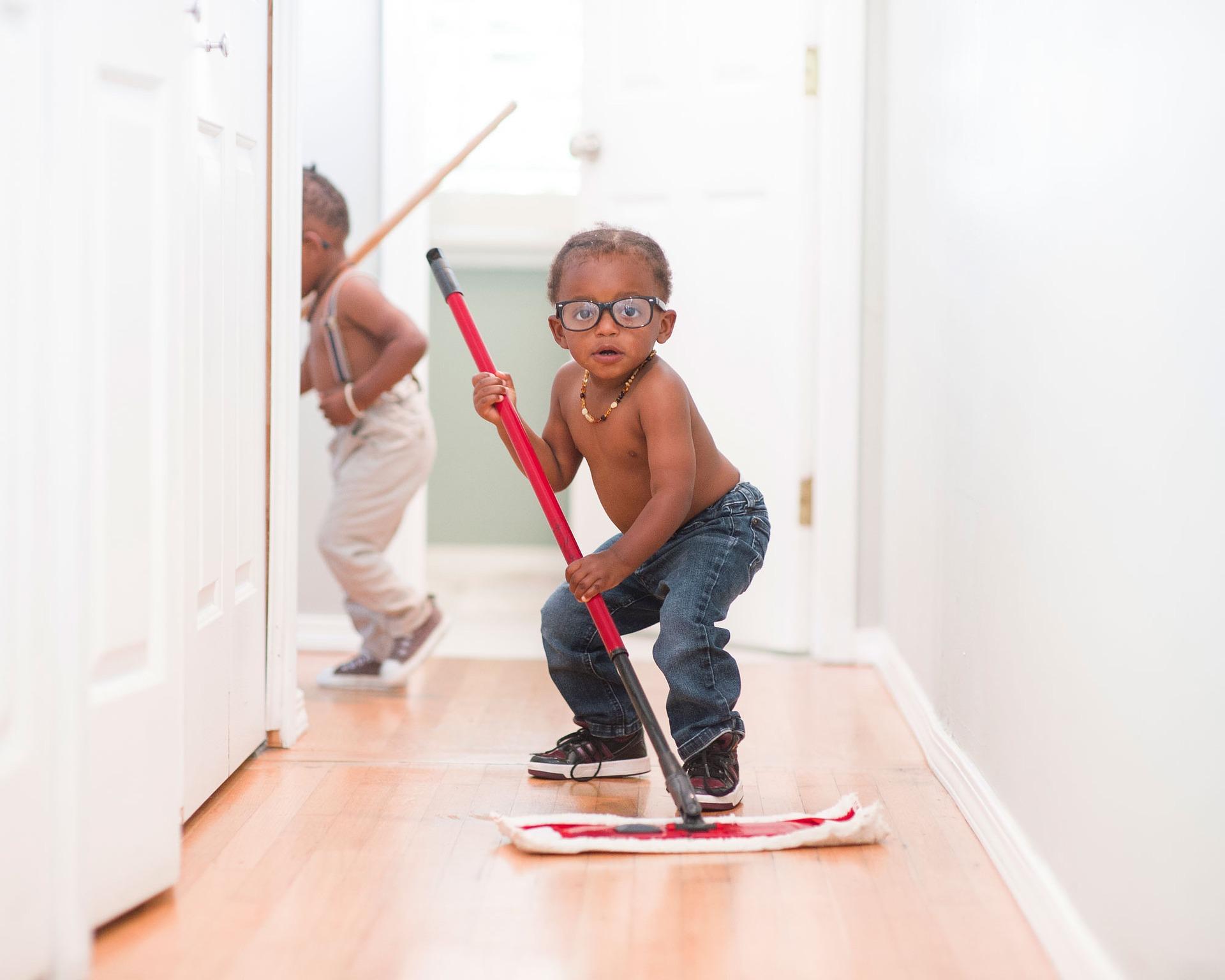 Nettoyer après les fêtes