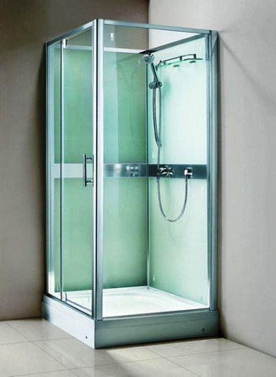Cabine de douche en acrylique