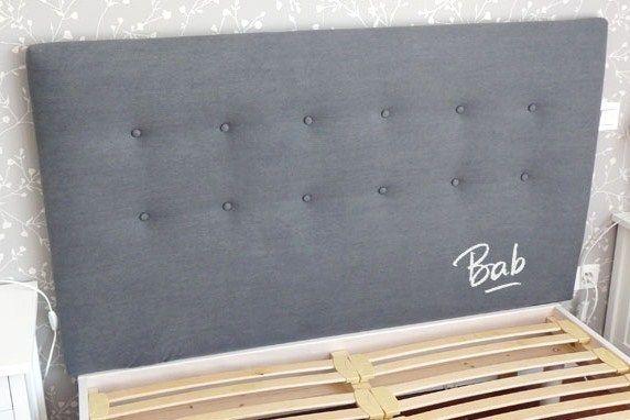 Processus de bricolage d'une tête de lit capitonnée
