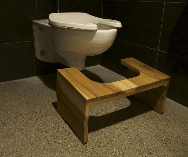 Pour un meilleur fonctionnement de votre système digestif : bricolez un tabouret de toilette